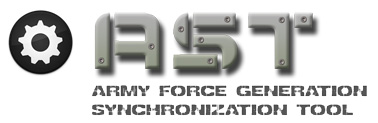AST - Army Force Generation Synchronization Tool
