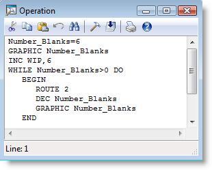 Editing Logic Windows