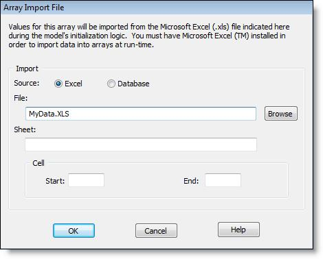 Import From An Excel Spreadsheet